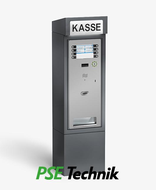 EMS-4000 Park Automat im Technik