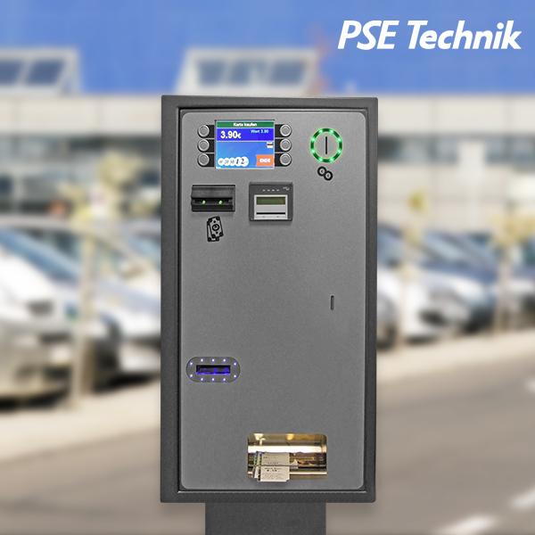 EMS-800-Parkscheinautomat im Detail