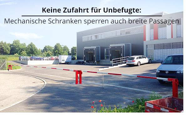 Schranke  Schranken - Beratung, Service, Montage, Kaufen