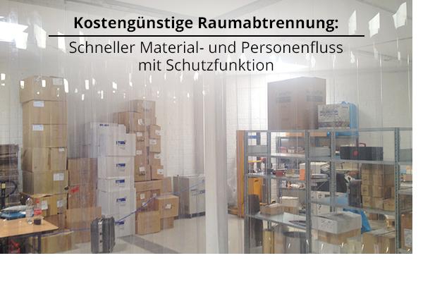 Streifenvorhang PVC - Beratung, Service, Montage, Kaufen