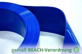 PVC Streifenzuschnitt Farbig Undurchsichtig