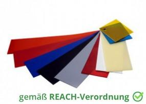 Weich PVC Platten Auflage Zuschnitt Farbig