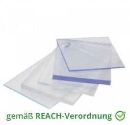 Weich PVC Platten Auflage Zuschnitt transparent