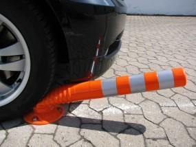 Flexibler Absperrpoller Ø 80 mm