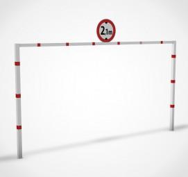 Höhenbegrenzungssperre mit fester Durchfahrtshöhe – Typ HR