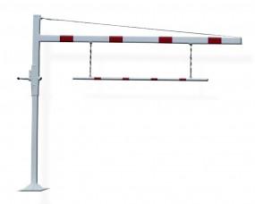 Höhenbegrenzungssperre feste Durchfahrtshöhe bis 2200 mm einteilig - Typ HF
