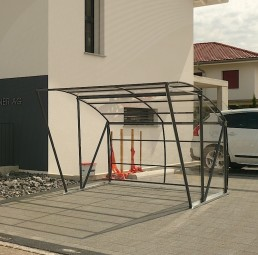 Fahrradunterstand | Fahrradgarage MODUL BIG, begehbar