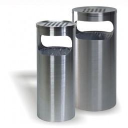 PS 150 Standascher und Abfallbehälter aus Edelstahl