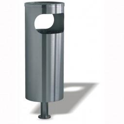 PS 190 Standascher und Abfallbehälter aus Edelstahl