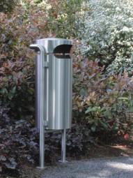 PS 220 Außenabfallbehälter