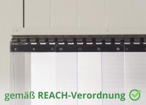 PVC Vorhang Einhang